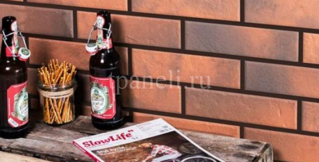 Фасадные клинкерные термопанели Cerrad Retro brick Chilli