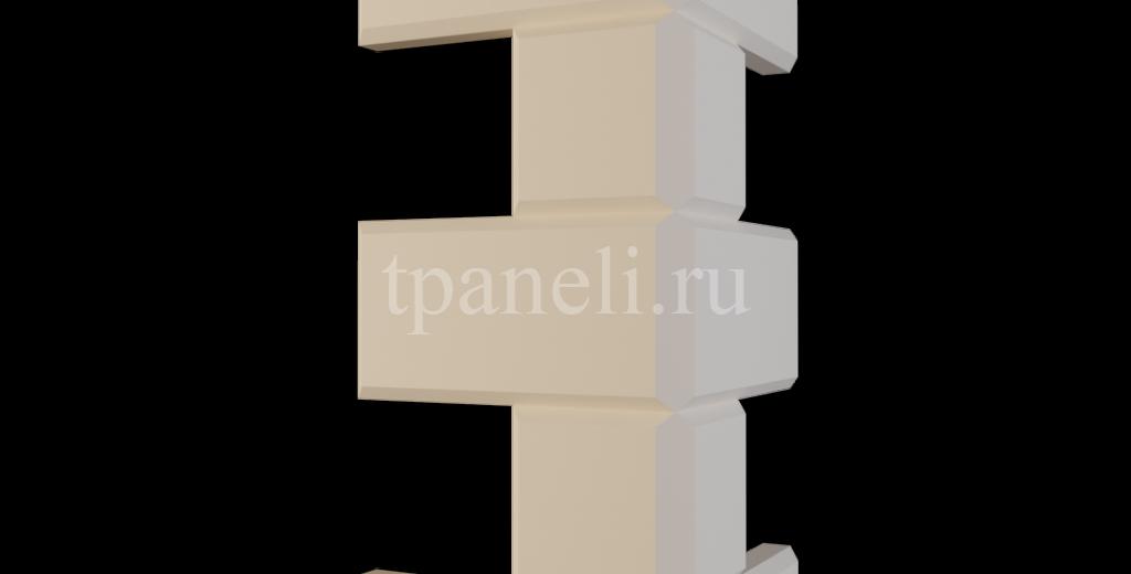 Рустовый камень из пенополистирола РС-2