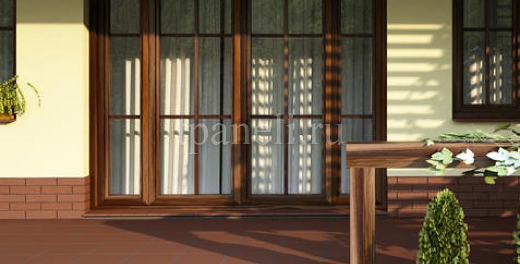 Фасадные клинкерные термопанели Cerrad Burgund Rustico