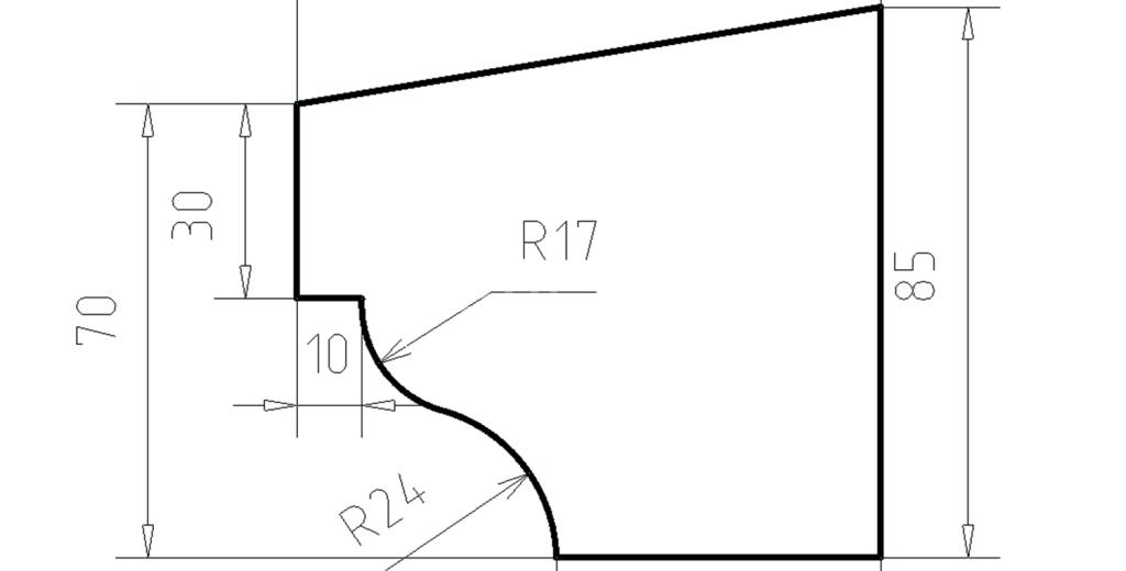 Карниз фасадный из пенополистирола КФ-11