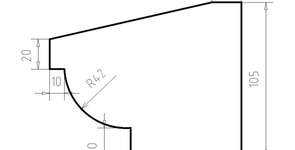 Карниз фасадный из пенополистирола КФ-13