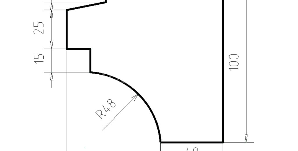 Карниз фасадный из пенополистирола КФ-14