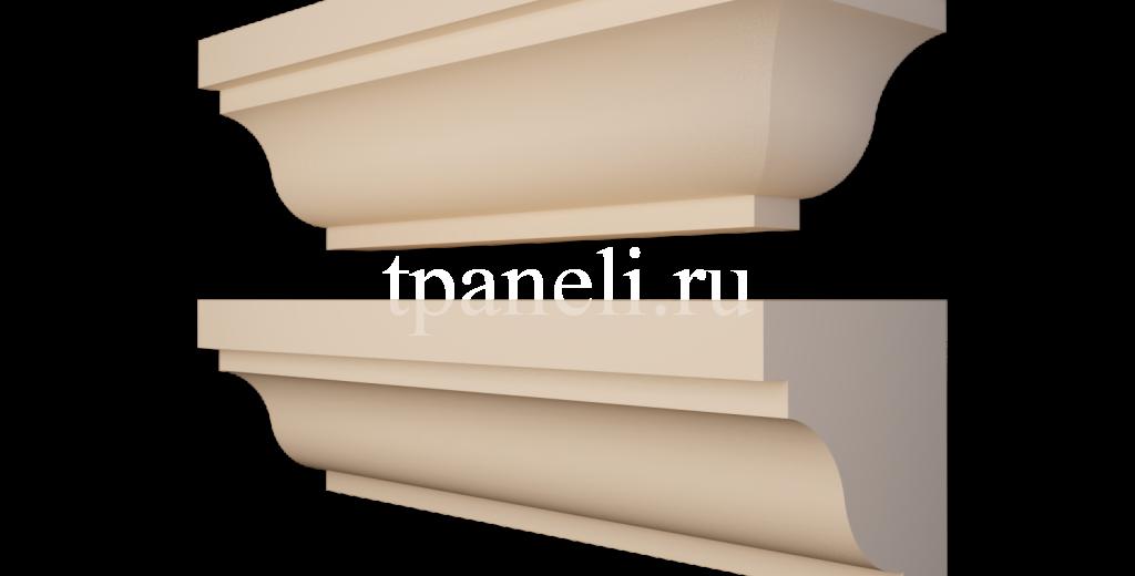 Карниз фасадный из пенополистирола КФ-19