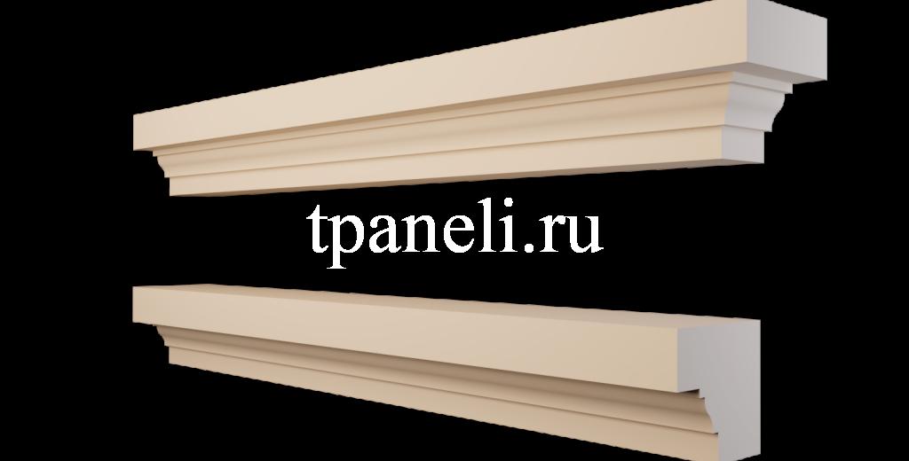 Карниз фасадный из пенополистирола КФ-27