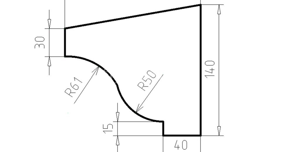 Карниз фасадный из пенополистирола КФ-30