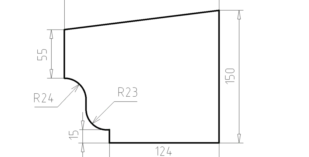 Карниз фасадный из пенополистирола КФ-39