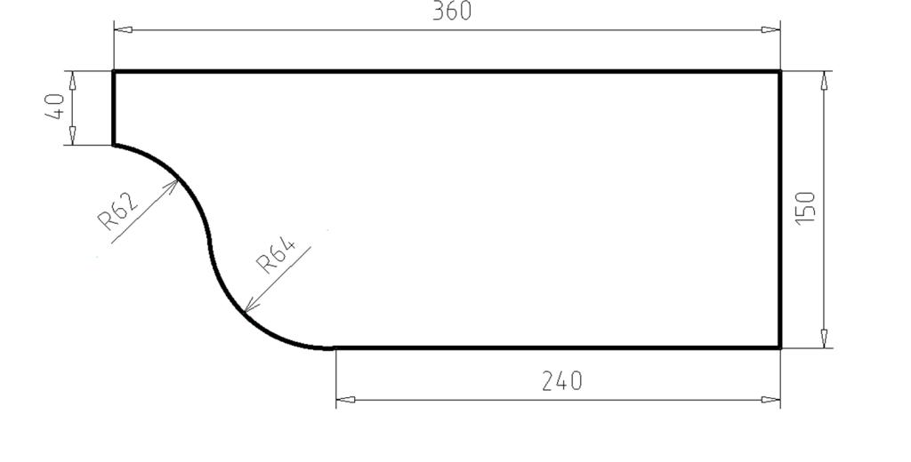 Карниз фасадный из пенополистирола КФ-41
