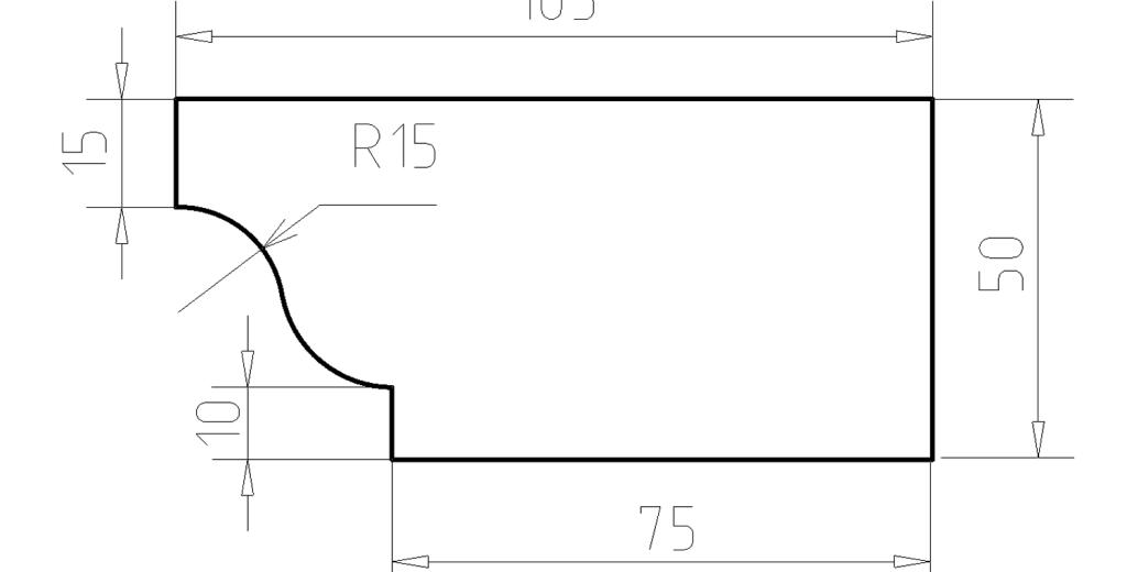 Карниз фасадный из пенополистирола КФ-06