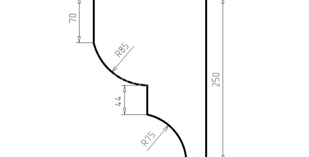 Карниз фасадный из пенополистирола КФ-69