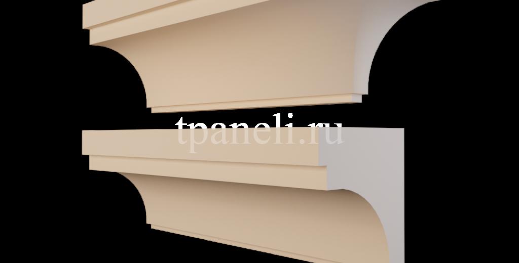 Карниз фасадный из пенополистирола КФ-74