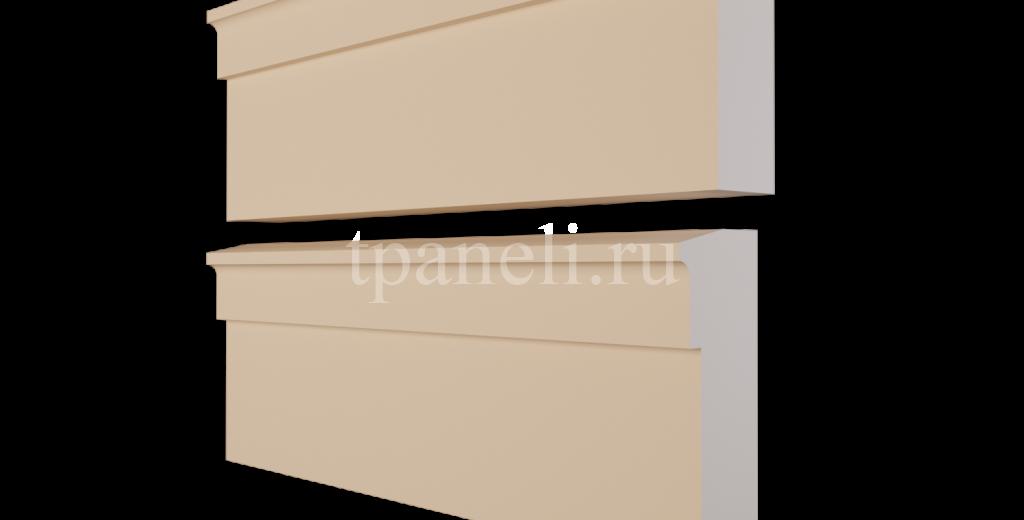 Карниз фасадный из пенополистирола КФ-82