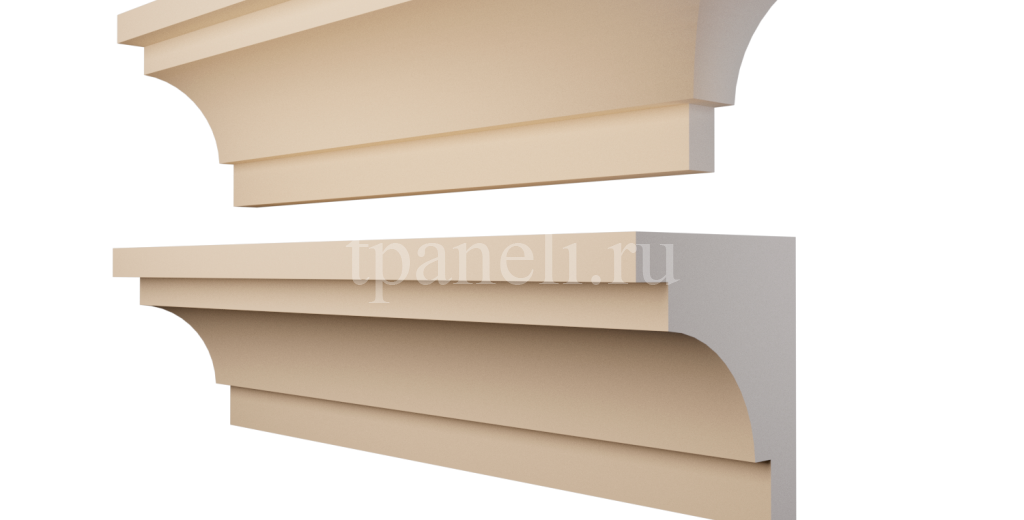 Карниз фасадный из пенополистирола КФ-85