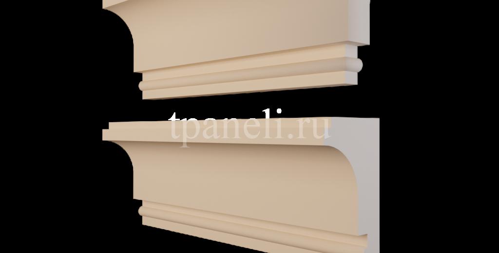 Карниз фасадный из пенополистирола КФ-86