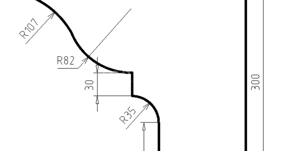 Карниз фасадный из пенополистирола КФ-97
