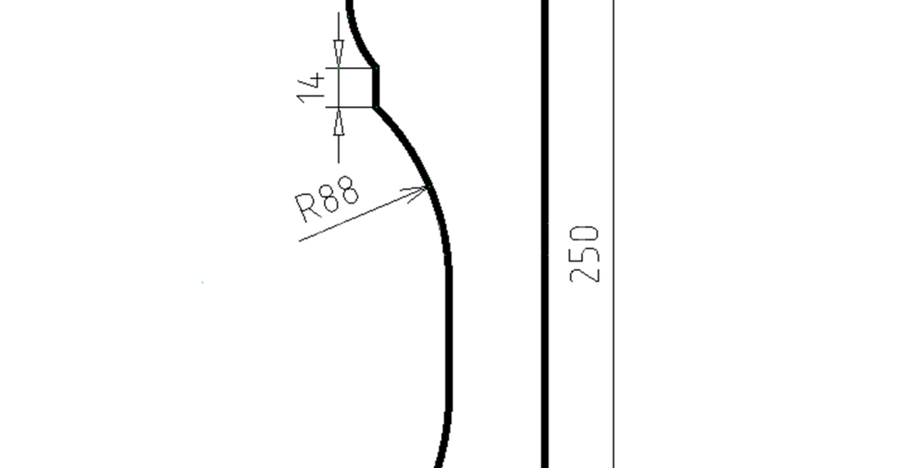 Наличники из пенополистирола модель НФ-11