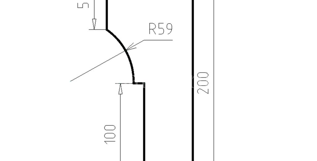 Наличники из пенополистирола модель НФ-14