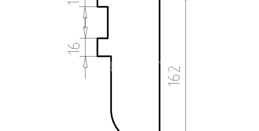Наличники из пенополистирола модель НФ-15