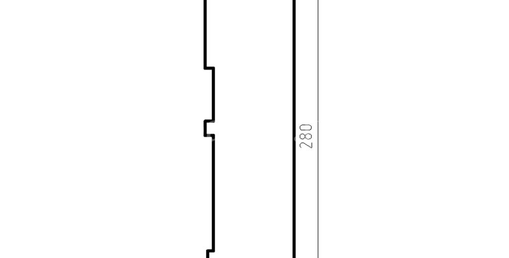 Наличники из пенополистирола модель НФ-24