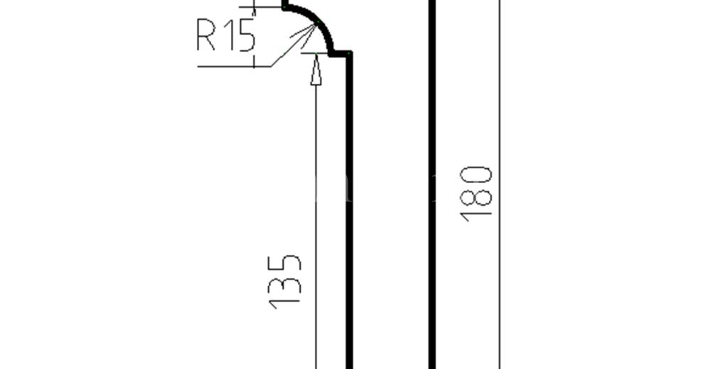 Наличники из пенополистирола модель НФ-27