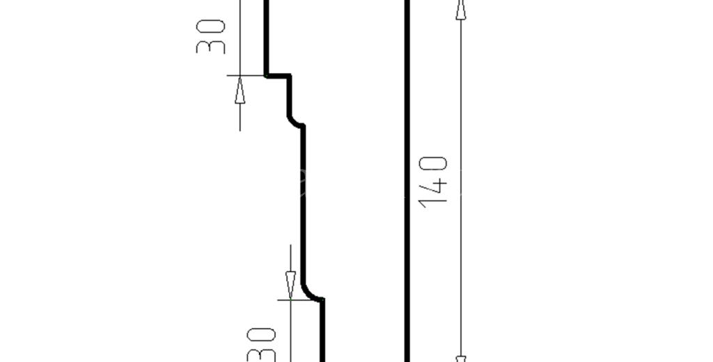 Наличники из пенополистирола модель НФ-03