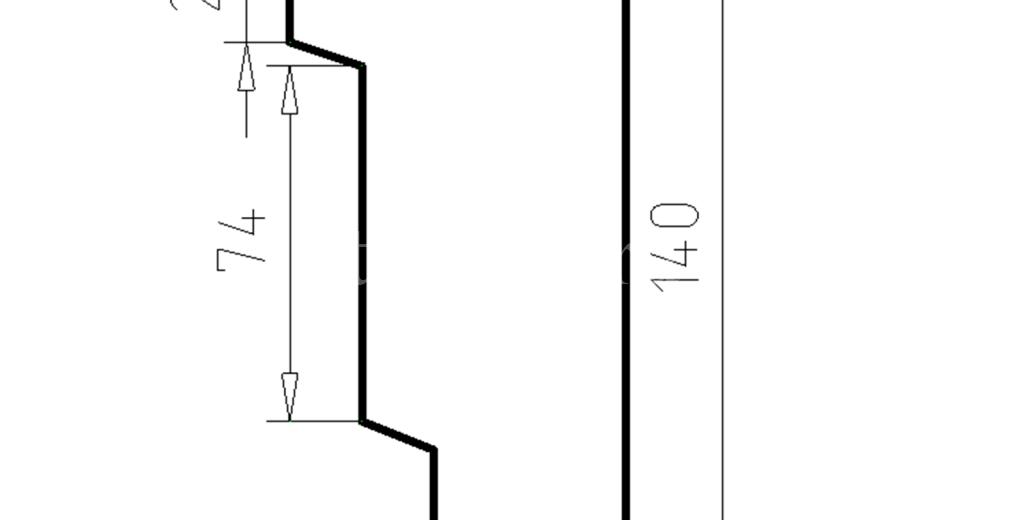 Наличники из пенополистирола модель НФ-33