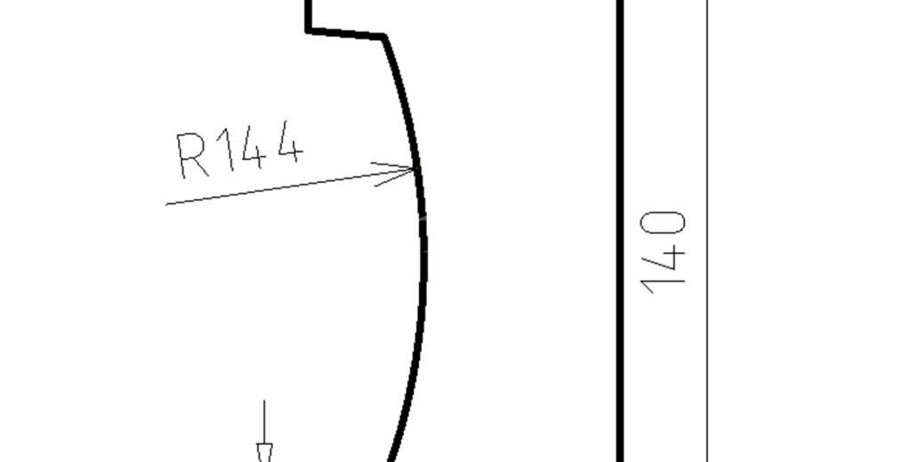 Наличники из пенополистирола модель НФ-36