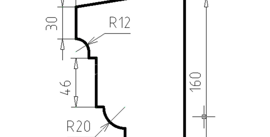 Наличники из пенополистирола модель НФ-38