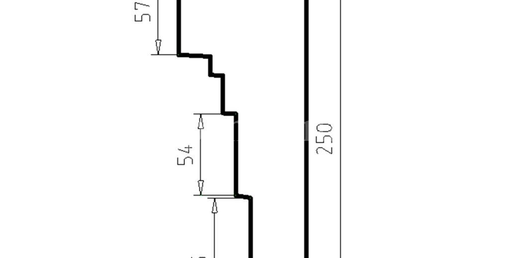 Наличники из пенополистирола модель НФ-44