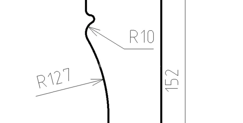 Наличники из пенополистирола модель НФ-06