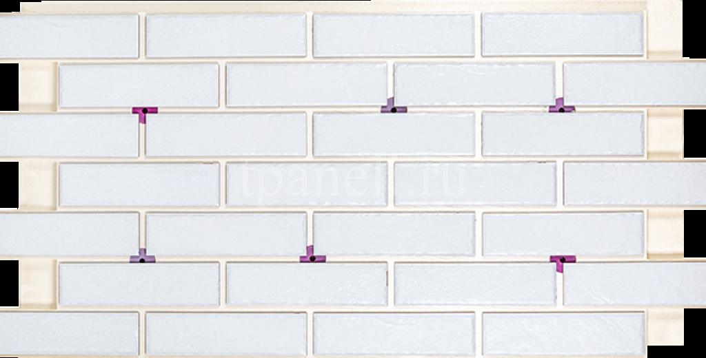 Фасадные клинкерные термопанели Cerrad Foggia Bianco