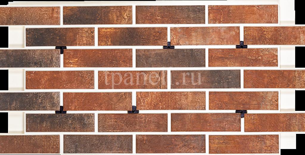 Фасадные клинкерные термопанели Cerrad Loft brick Chilli