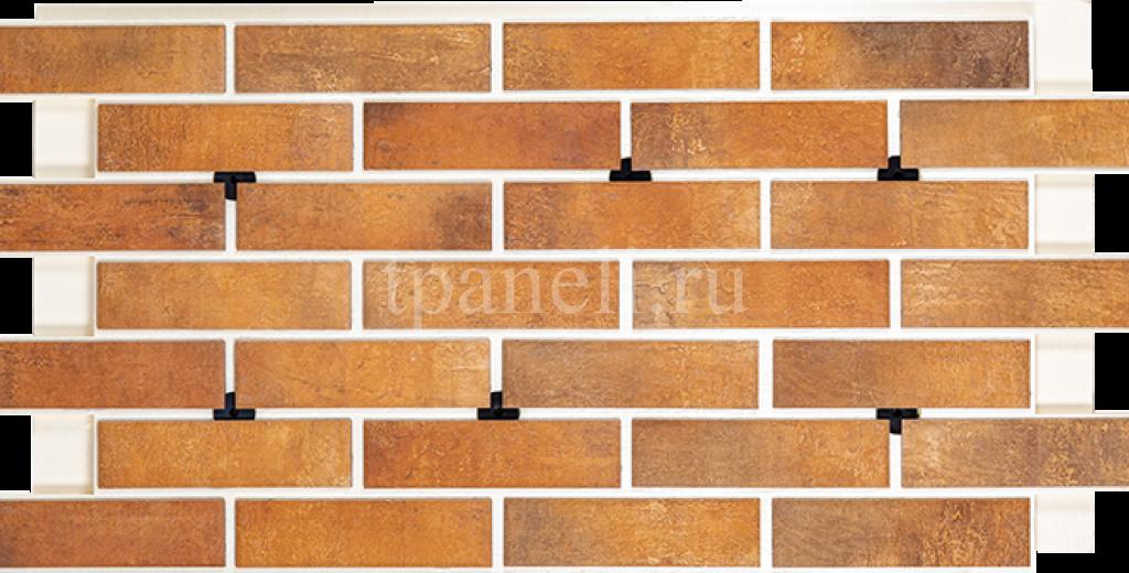 Фасадные клинкерные термопанели Cerrad Loft brick Curry