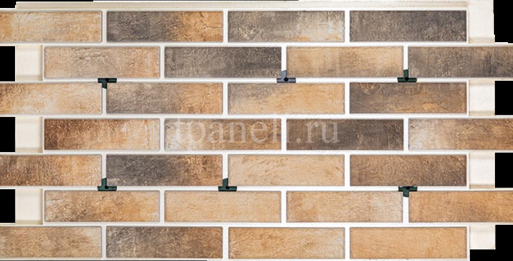 Фасадные клинкерные термопанели Cerrad Loft brick Masala