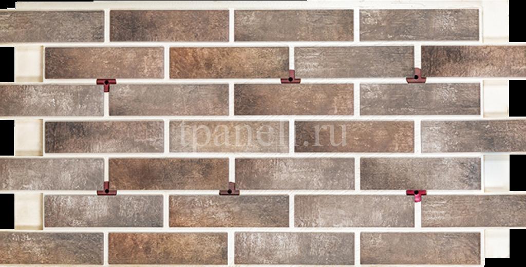 Фасадные клинкерные термопанели Cerrad Loft brick Pepper