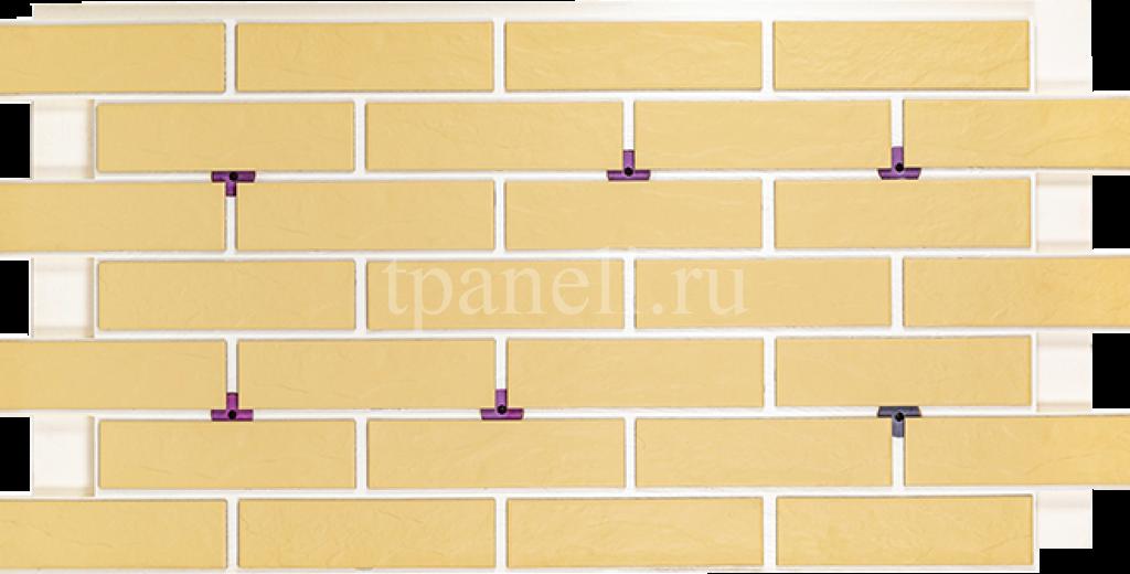 Фасадные клинкерные термопанели Cerrad Piaskowa Rustico Nowa