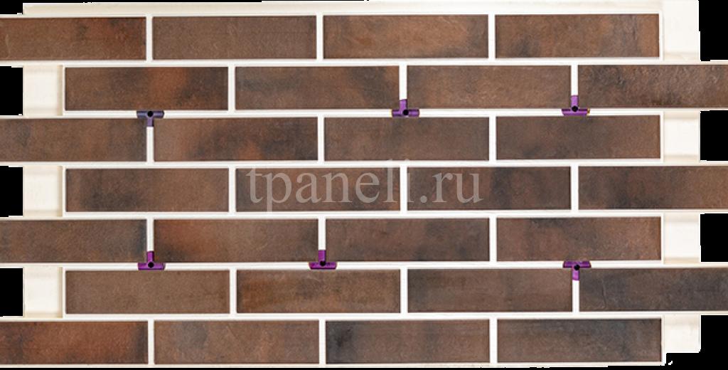 Фасадные клинкерные термопанели Cerrad Retro brick Cardamon