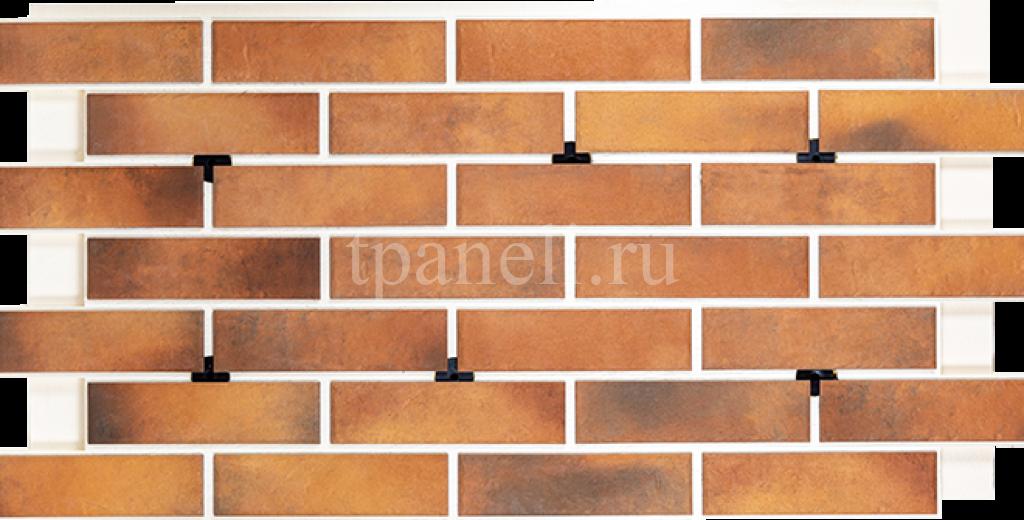 Фасадные клинкерные термопанели Cerrad Retro brick Curry