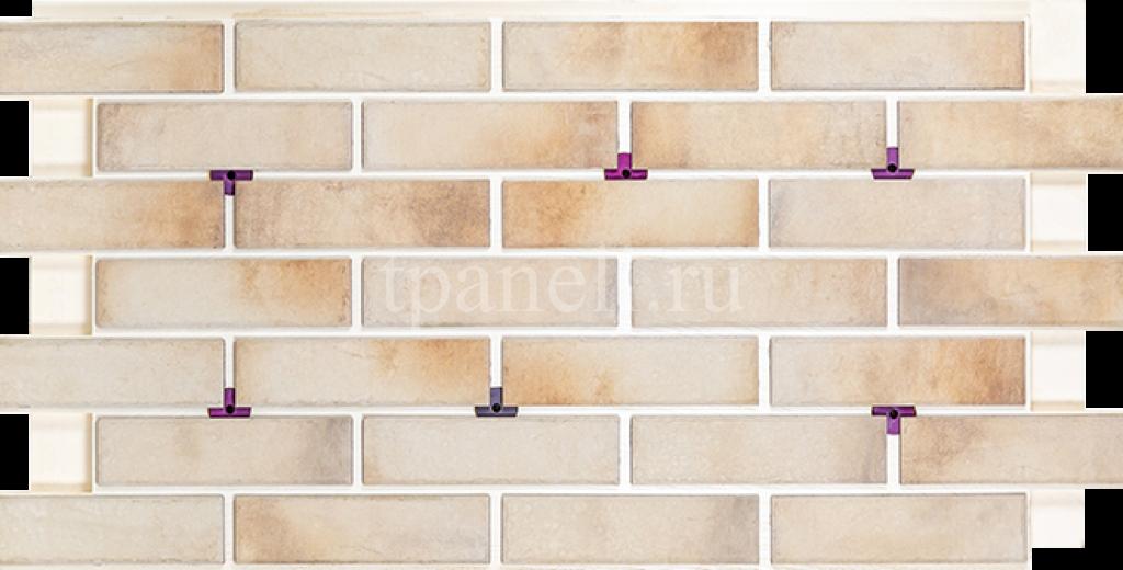 Фасадные клинкерные термопанели Cerrad Retro brick Salt