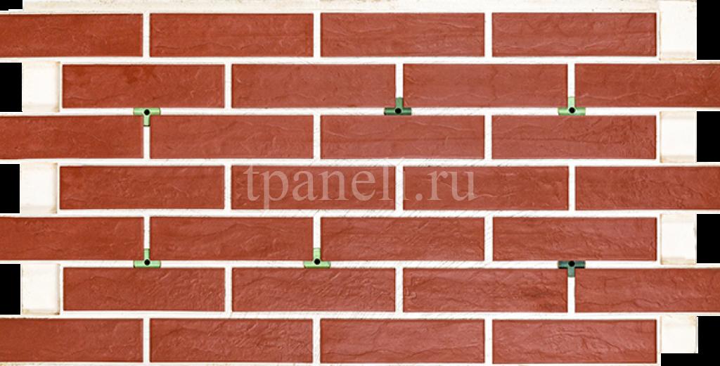 Фасадные клинкерные термопанели Cerrad Rot rustico